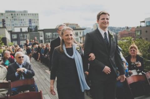 Ecotrust wedding, Portland