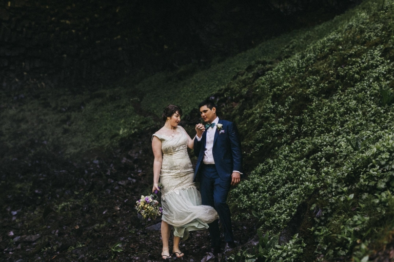 Portland Wedding Photographer Photojournalistic Elopement Or