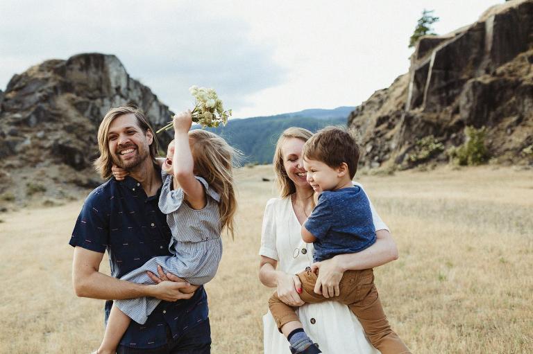 lifestyle family photographer Portland OR