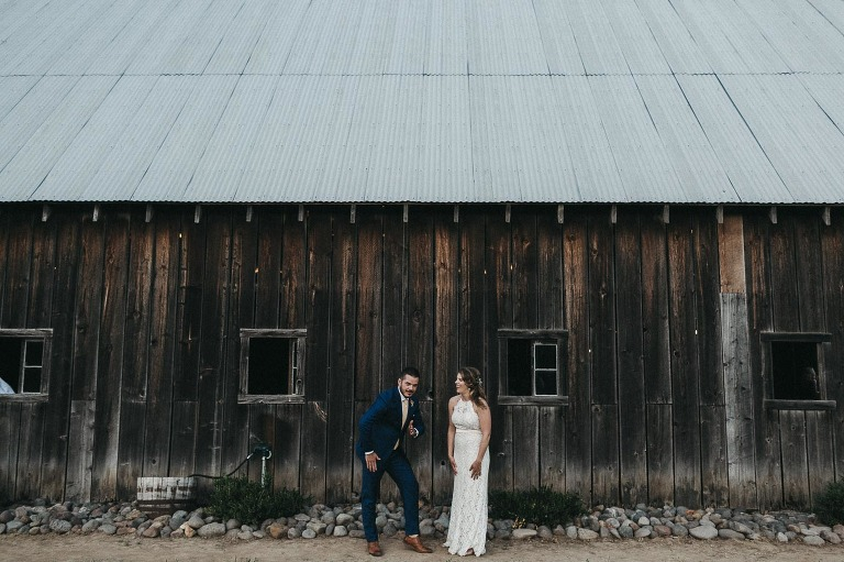 Tin Roof Barn Wedding